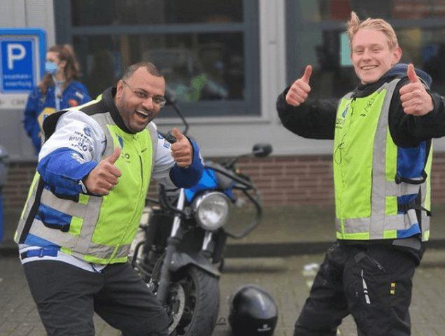 Geslaagd bij rijschool Demo Opleidingen in Rotterdam