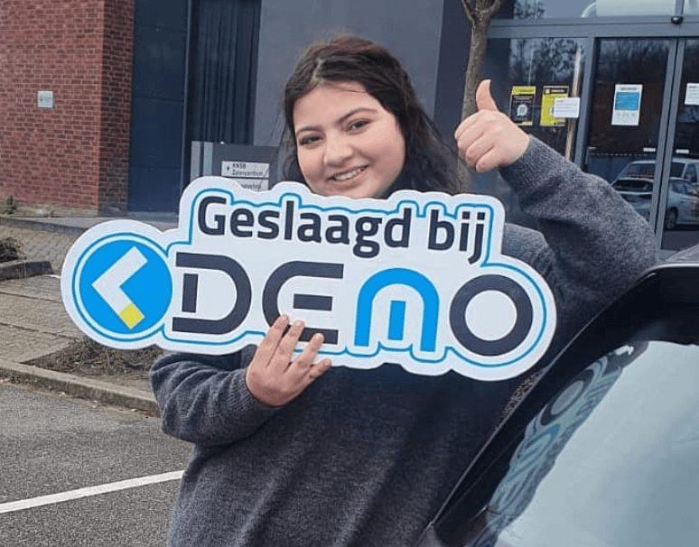 geslaagd bij demo opleidingen in Rotterdam